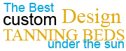 the best custom design tanning beds